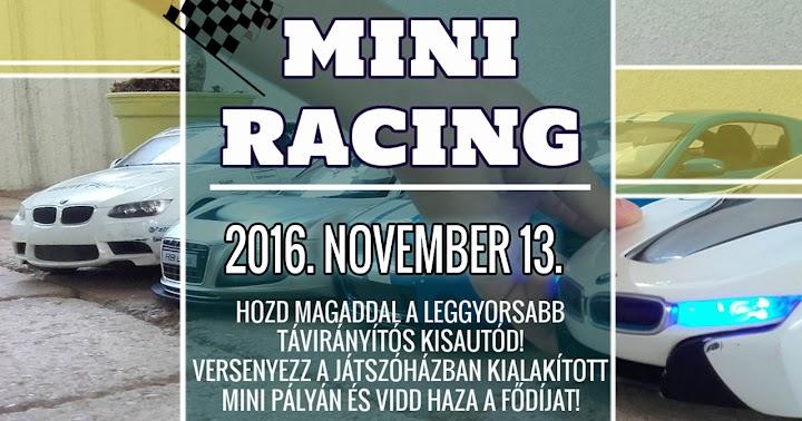 Mini Racing játszóház 2016.11.13