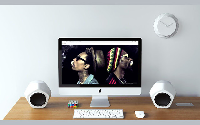 Snoop Dogg New Tab & Wallpapers Collection