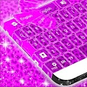 Keypad Purple Cheetah icon