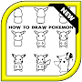 How to draw Pokemon APK icon