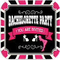 Bachelor Party Invitation icon