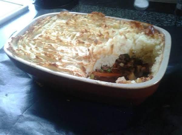 Meat & Potatoe Pie ..