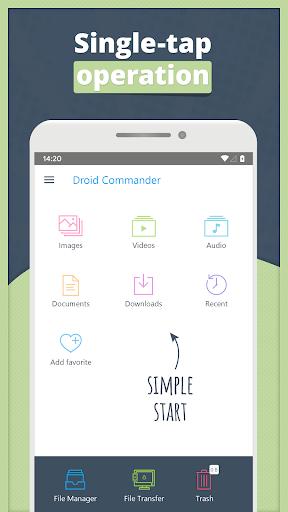 Droid Commander screenshot 1