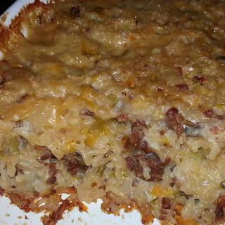 Sausage Rice Casserole Celery Recipes
