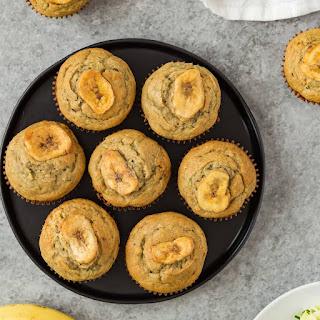 Zucchini Banana Muffins.
