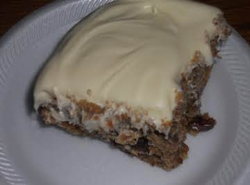 SUPER MOIST ZUCCHINI CAKE