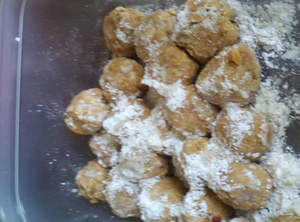 Peanut Butter Snowballs (no Bake) Recipe