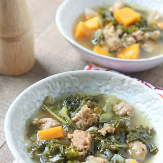 Slow Cooker Italian Sausage and Kale Soup with Sweet Potatoes Recipe