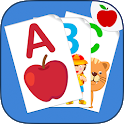 ABC Flash Cards for Kids - Game to learn English icon