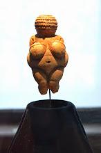 Photo: Vienna - Museum of Natural History - Venus of Willendorf