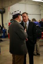 Photo: VT Secretary of Agriculture, Chuck Ross & Gov Peter Shumlin