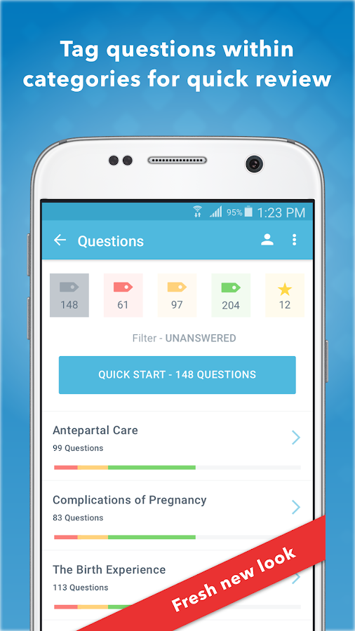 NCLEX RN Lippincott Review- screenshot