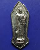 32.พระลีลา 25 พุทธศตวรรษ เนื้อชิน พ.ศ. 2500 พระดีพิธีใหญ่