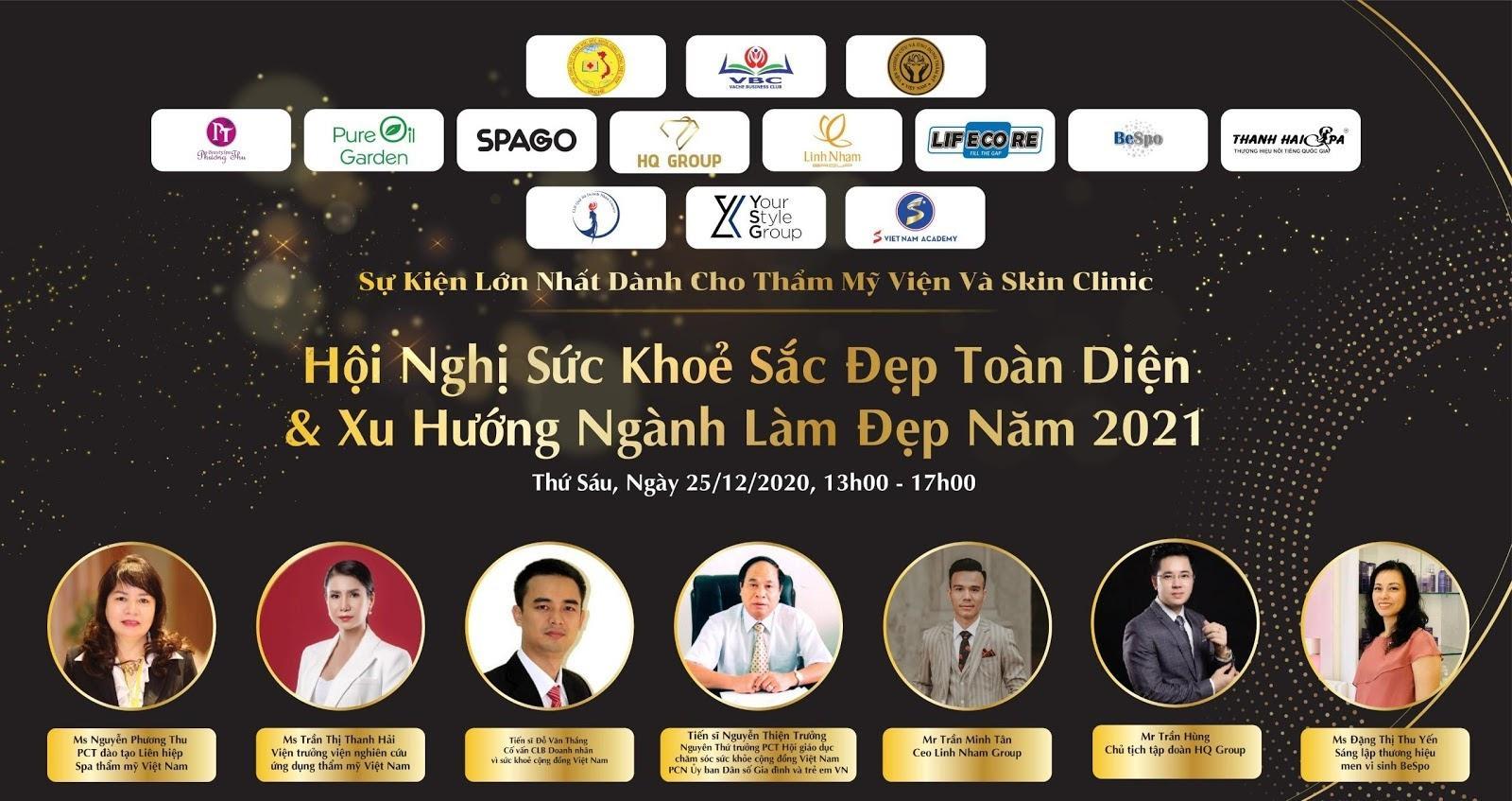 Ông Nguyễn Nam Hoàn Tập đoàn Lifecore Việt Nam - Phó Ban tổ chức Hội nghị sức khỏe sắc đẹp toàn diện và xu hướng ngành làm đẹp 2021 - Ảnh 3