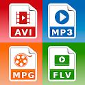 Video Converter: MP3 AVI MPEG GIF FLV WMV MP4 icon