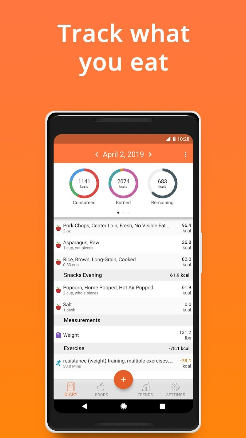 Cronometer – Nutrition Tracker (ad free) Screenshot 0