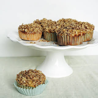 Banana Oat Muffins with Crumble Top.