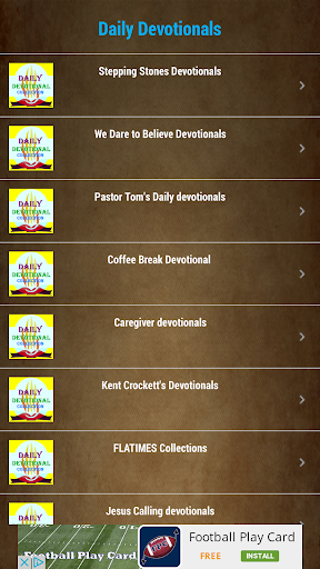 Daily Devotional Collections Screenshot