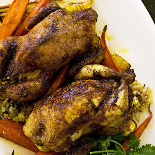 Spiced Chicken with Couscous Stuffing