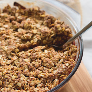 Easy Apple Crumble (GF, Vegan)