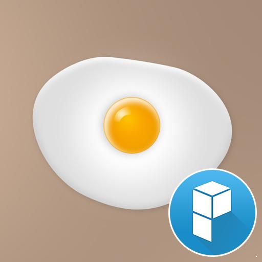 早餐是煎蛋 桌面主题 個人化 LOGO-玩APPs