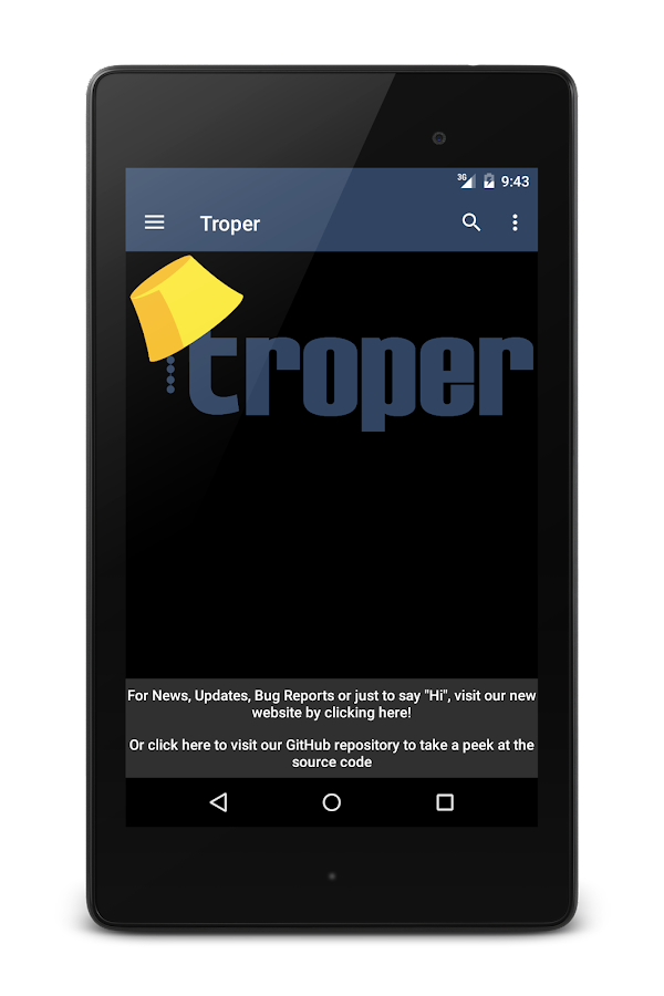 Troper- screenshot