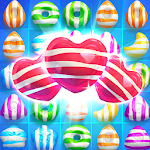 Crazy Candy Bomb-Free Match 3 Game Icon
