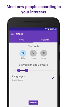 Chask - anonymous chat