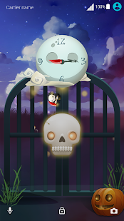 Ghost Halloween ND Xperia Theme - náhled
