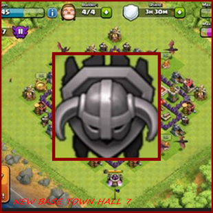 New Coc Base Town Hall 7 - náhled