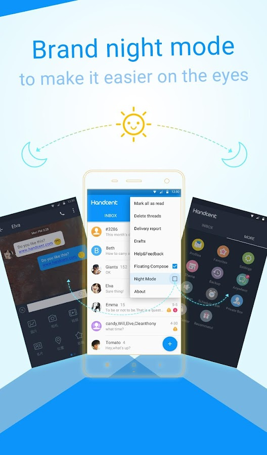 Handcent Next SMS- screenshot
