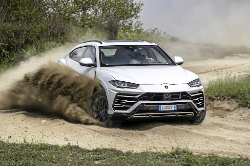 Yes, you really can take a Lamborghini off-road — and it's quite good at it too
