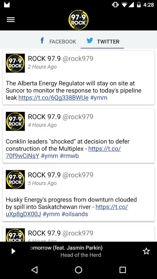 97.9 ROCK Fort McMurray- screenshot
