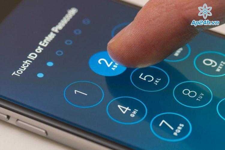 Xóa mật khẩu khóa màn hình
