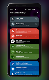 Ceri Launcher Screenshot
