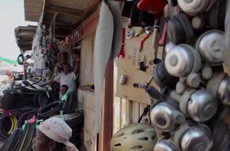 Photo: Tools, parts, accessories at market