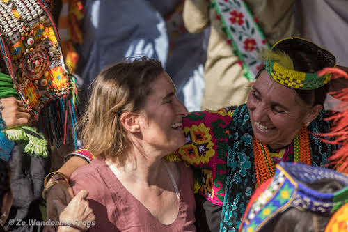 Pakistan Culture of the Kalash Valley Pakistan // Dancing along at the Kalash Uchal Festival