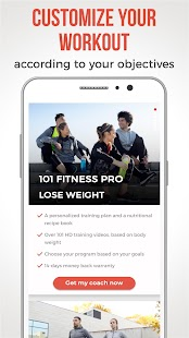 Personal coach and fit plan at home - 101 Fitness- screenshot thumbnail