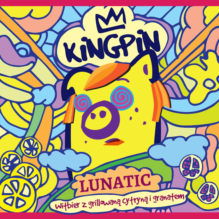 Logo of Kingpin Lunatic