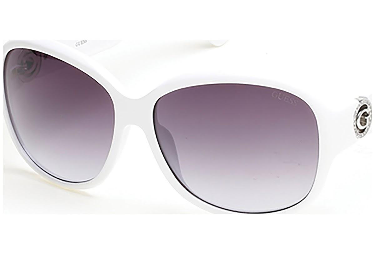 Sunglasses GU7406 Blickers white 21B C64 Buy smoke gradient Guess FczU057pg
