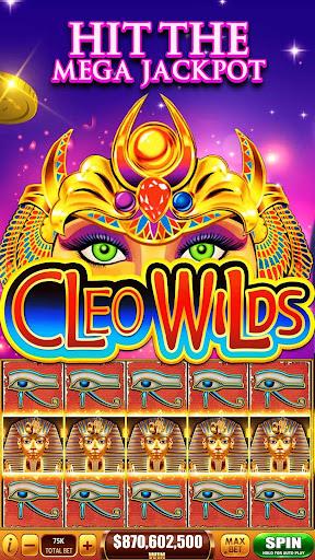 Slots! Cleo Wilds Slot Machines & Casino Games 1.06 screenshots 3