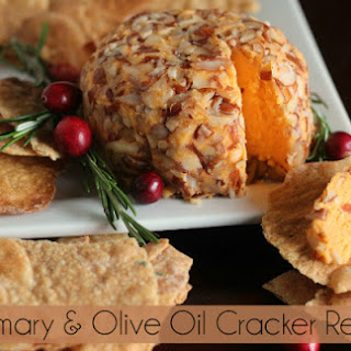 Rosemary and Olive Oil Cracker.