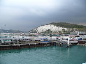 Photo: Widok na port Dover z promu.
