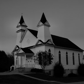 ~First Baptist Church~ by Kim Welborn - Buildings & Architecture Other Exteriors