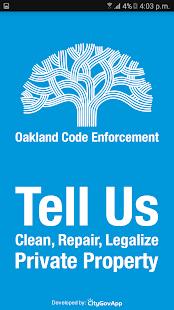 Oakland Tell Us - náhled