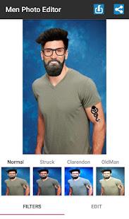 Man Photo Editor、Men Hair Styleが私の顔を設定2018