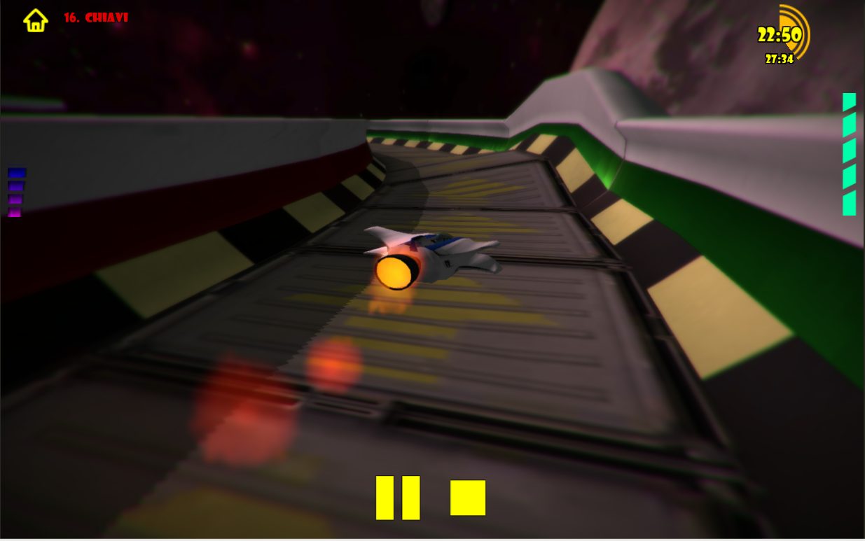 Universe Race: Star Pilot FREE- screenshot