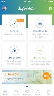 Download JupViec.vn: Giúp việc theo giờ For PC Windows and Mac apk screenshot 2