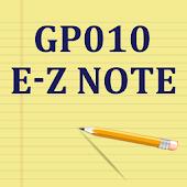 GP010 EZ Note