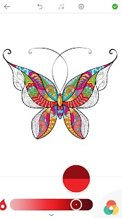 Adult Butterfly Coloring Pages- screenshot thumbnail